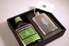 Coffret Chartreuse verte flask